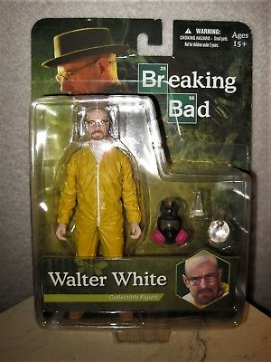 2013 - Breaking Bad - Walter White - Yellow Meth Suit Action Figure - Great Gift