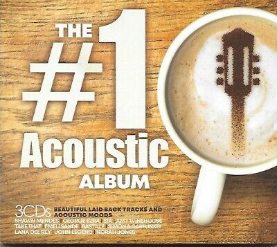 THE #1 ACOUSTIC ALBUM 3 CD SET (Released June 28th 2019) - 60 Mellow Tracks
