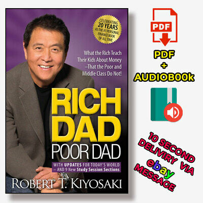 Robert Kiyoski - Rich Dad Poor Dad  (Audio-book & P-D-F) ⚡Fast Delivery(10s)⚡