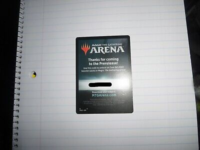 MTG Arena Pre-Release Core Set 2020 CODE ONLY for 6 packs of M20 1 per acct