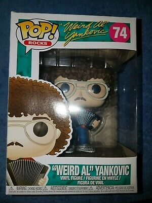 "Funko ""Weird Al"" Yankovic #74 with Accordian"