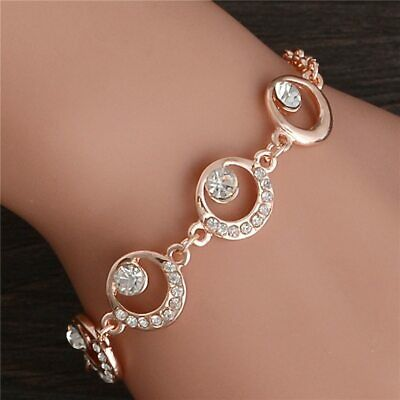 Trendy Summer New Fashion Hot Round Crystal Jewelry charm bracelet & Bangles