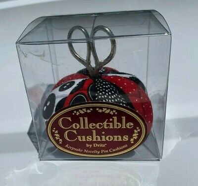collectible cushions by dritz scissors keepsake novelty pin cushions