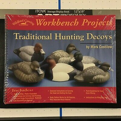 Workbench Projects - Wildfowl Carving - Traditional Hunting Decoys SEALED NEW