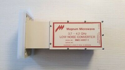 Magnum Microwave Low-Noise Block Downconverter LNB MMC-4007-1 (3.7 - 4.2 GHz)
