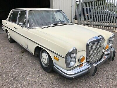 1969 Mercedes-Benz 300Sel 6.3 V8 74000 Mileage Lhd Great Restoration Project