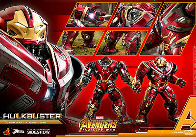 Hot Toys Hulkbuster 1/6 Scale Figure Avengers Infinity War 2 Movie Masterpiece