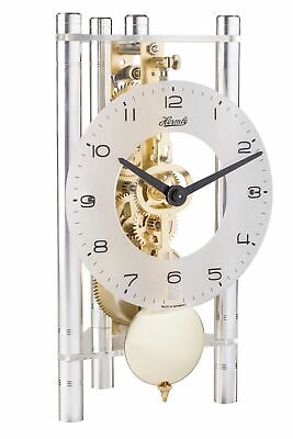 Hermle -transmission 20cm- 23022-X40721 High Quality Analog Table Clock with Sch