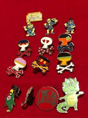 14 Disney pins  Haunted Mansion & Pirates  As Seen lot X