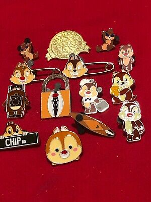 14  Disney pins  Chip and Dale  As Seen lot X