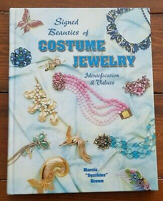 Signed Beauties of Costume Jewelry Book--identification and values
