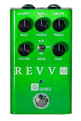 Revv G2 Boost/OD pedal, BRAND NEW WITH WARRANTY! FREE 2-3 DAY SHIPPING IN U.S.