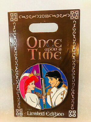Disney Once Upon a Time Little Mermaid ARIEL Pin LE 2000~NEW Ariel Flip Pin
