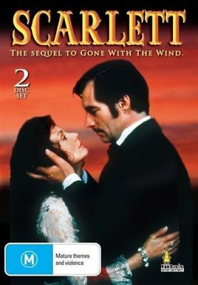 SCARLETT ( THE SEQUEL TO GONE WITH THE WIND ) 2 DISC SET Region 4 New AND SEALED