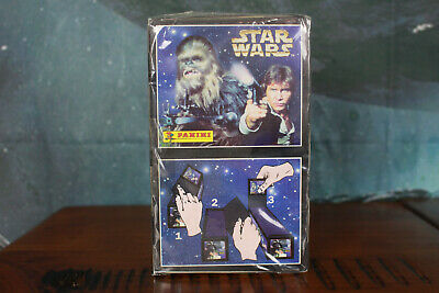 Star Wars Panini Sealed Box of 100 Packs of Stickers 1996