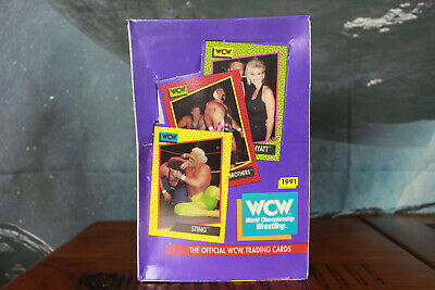 WCW Official Trading Cards Sealed Box Impel 1991
