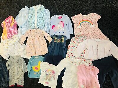 Joblot  Girls Clothes , Ted Baker, John Lewis, Joules, Jo Jo Mamam Bebe  Age 0-3
