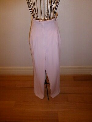Together! Womens' Lined Pale Pink Pants, Size 12