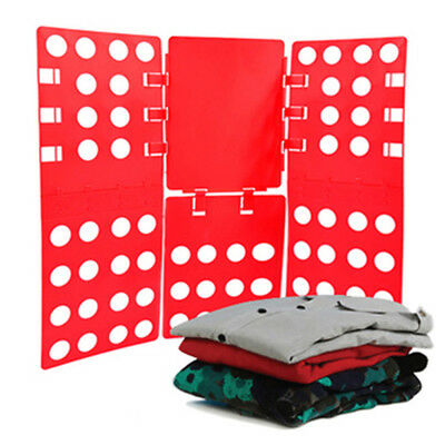 Clothes T-Shirt Folder fast Folding Board Flip Fold For Adult Child Laundr~GN