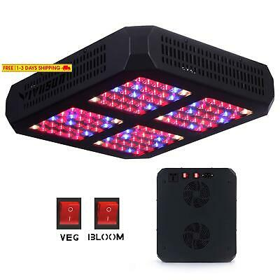 Vivosun 600W Led Grow Light Full Spectrum With Double Switch For Indoor Plants G
