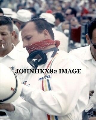 Rare Aj Foyt Indy 500 Photo-Now 4 Indy 500 Wins- 7 Time Indy Car Series Champion