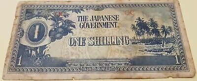 Japanese Occupation Money - One Shilling OC Oceania (b)
