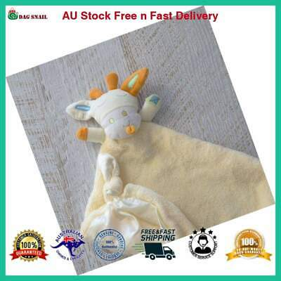 Bubba Blue Lemon Giraffe Security Baby Blanket Toy, Yellow FREE FAST POSTAGE