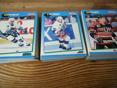 102   Score  1991   Blue   Series   American  Ice  Hockey  Cards   Vgc   Listed