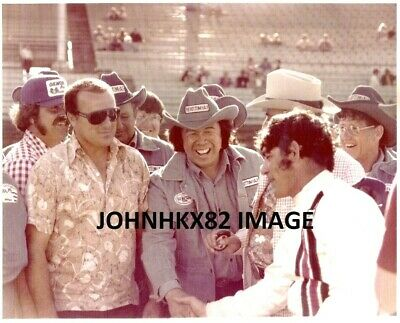 Aj Foyt,Sheldon Kinser,Grant King,Jc Agajanian Indy 500 Color Photo-Usac-Rare