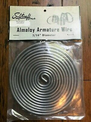 3/16 Almaloy Armature Wire/10 Feet Long
