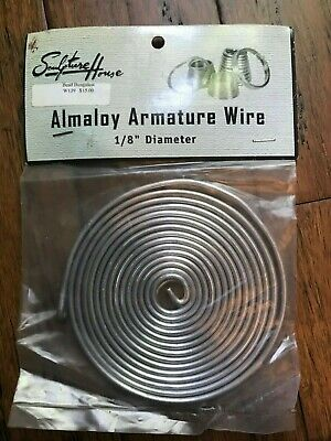 1/8 Almaloy Armature Wire/20 Feet Long