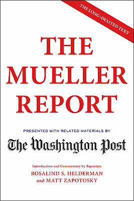 The Mueller Report - The Washington Post [eBooks , 2019 ]