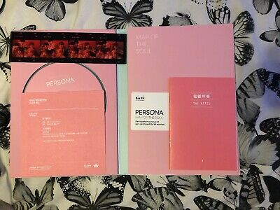 BTS Map of the Soul Persona Album Version 1, No Postcard, No Photocard.