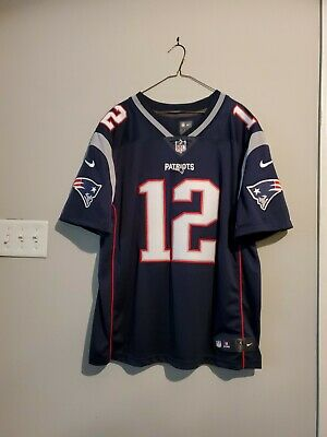 save off 7114b 6ff24 NEW ENGLAND PATRIOTS TOM BRADY Reebok On Field Stitched ...