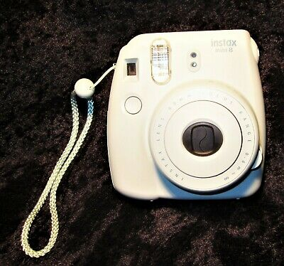 Fujifilm Instax Mini 8 Instant Film Camera Ice Blue Includes Original Case