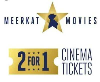 MEERKAT MOVIES 2-for-1 Cinema Ticket Code: Cineworld, Odeon, Vue.