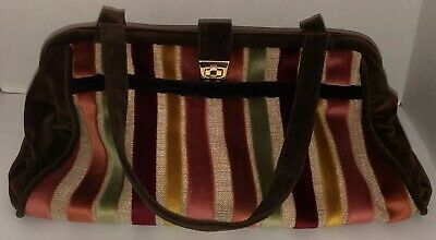 Offhand Designs Large Tote Project Bag Purse Knitting Crochet Doctor Carpet Mary