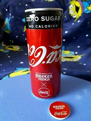 Stranger Things Coca Cola Can Limited Edition Unopened Promo