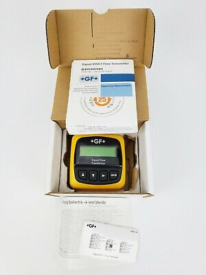 George Fischer 3-8550-1 +Gf+ (385501) Process Flow Meter, New! Lead Free