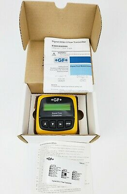 George Fischer 3-8550-1 +Gf+ (385501) Process Flow Meter, New!