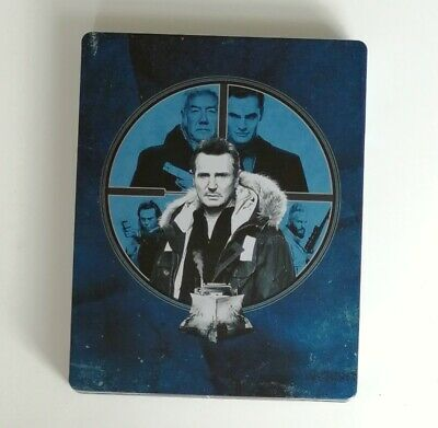 HARD POWDER limited Blu-ray STEELBOOK - Liam Neeson ... neuwertig L@@K!