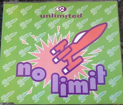 ☆ 2 UNLIMITED ☆  No Limit 1992 CD Maxi MCD Single