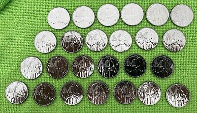 25 X 2018 Alphabet A-Z 10p Ten Pence Coin M Mackintosh From Sealed Bags