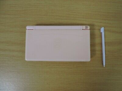 Nintendo DS Lite Pink Handheld System with 5 Games #TC1-RW