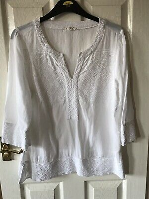 White Stuff Blouse/Top Size 14. Great Condition