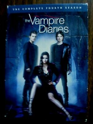 Vampire Diaries The Complete Season 4 Fourth Four 4th (5-DVD) Region 1