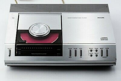 philips cd100  First CD-Player in europe collector !