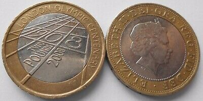 £2 Commemorative coin: 2008 Centenary 1908 London Olympic Games