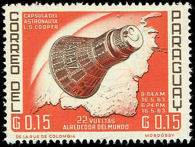 Scott # 775 - 1963 - ' Project Mercury Flight of L. Gordon Cooper '