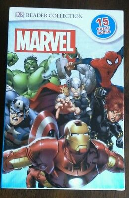 Dk Marvel Comics Readers Collection 15 Books